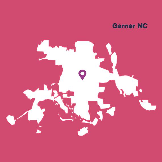 city-map-Garner-NC