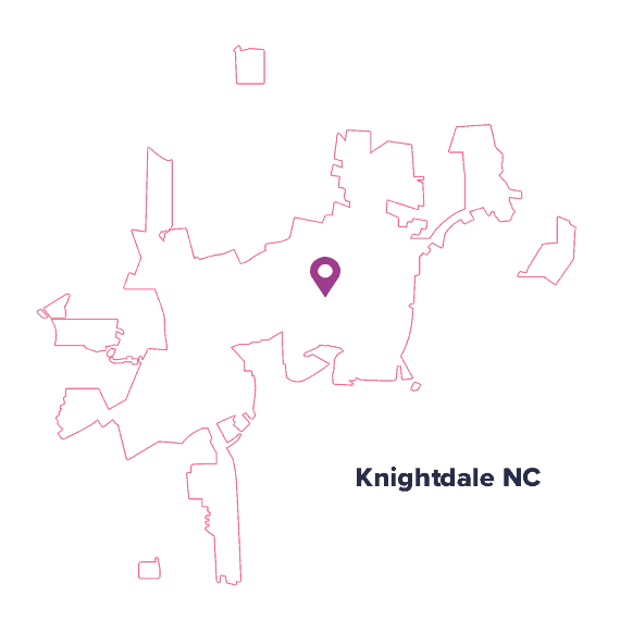 city-map-Knightdale-NC