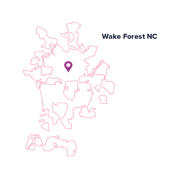 city-map-Wake-Forest-NC