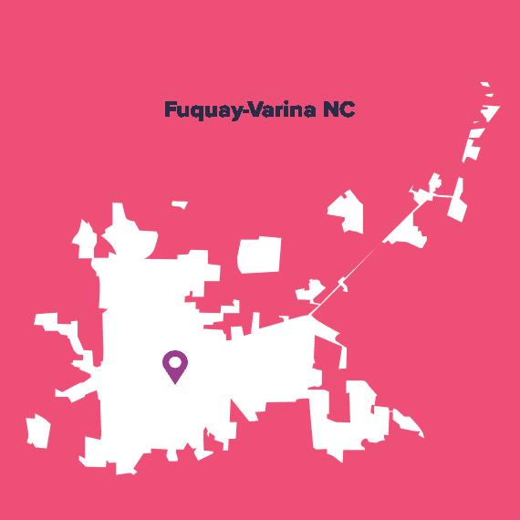 Fuquay-Varina-Map